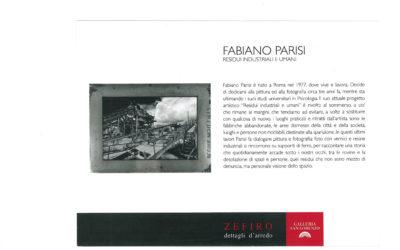 Personale di Fabiano Parisi